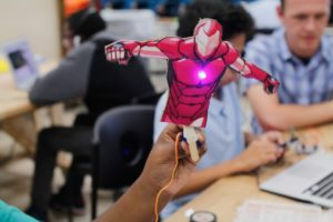 arduino iron man servo in megalab