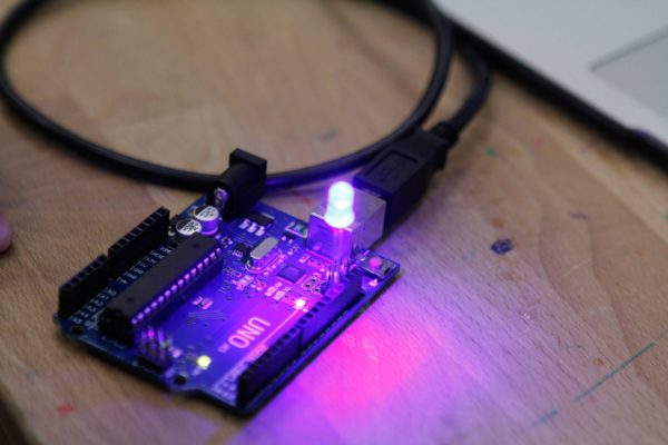 arduino closeup LED