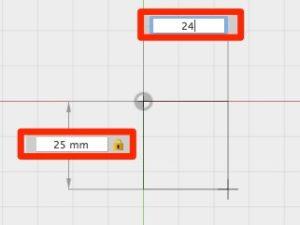step 2 Fusion360 fidget spinner