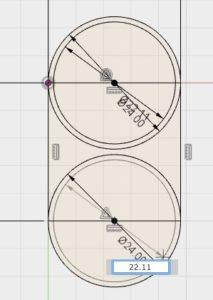 step 4 Fusion 360 fidget spinner